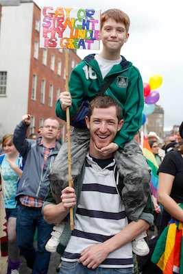 Dublin Pride 2012. Picture: Columba O'Hare
