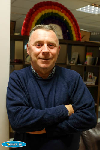 Damian McShane, Chairperson, Newry Rainbow Community.